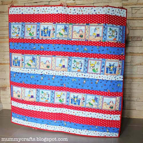 Baby Strip - easy baby quilt patterns