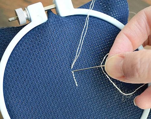 Backstitch - sewing stitches