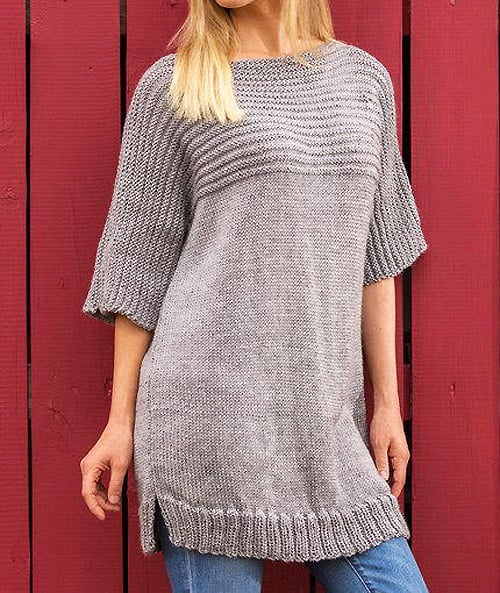 Big Comfy Sweater - knit sweater patterns