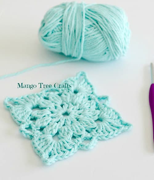 Cotton Neat Motif - easy crochet squares