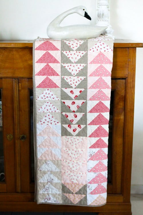 Flying Geese - easy baby quilt patterns