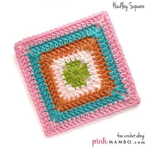 Hadley Square - easy crochet squares