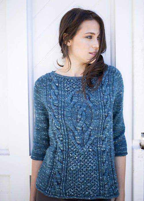 Lempster - knit sweater patterns