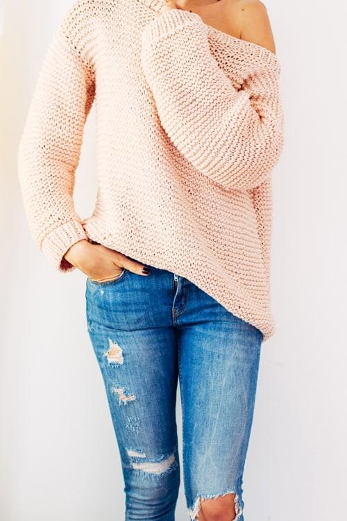 Oversize Sweater - knit sweater patterns