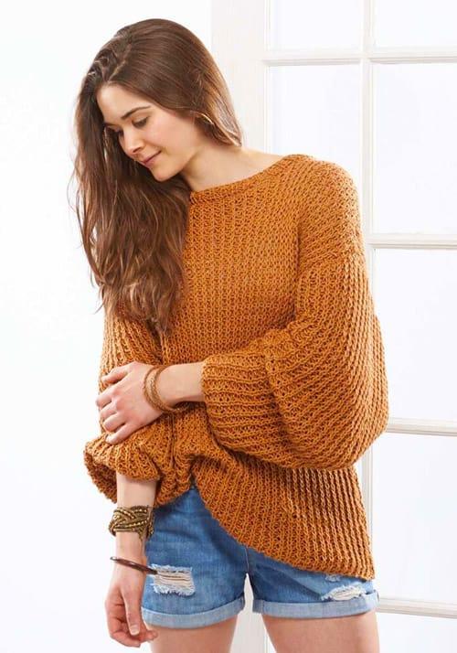 Sandbar Pullover - knit sweater patterns