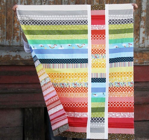 Strip and Flip - easy baby quilt patterns