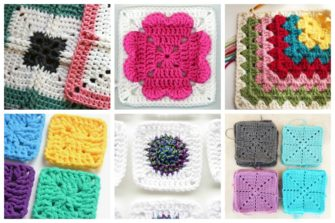 easy crochet squares