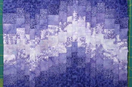 Bargello Strips - strip quilt patterns