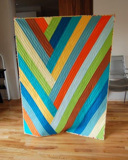 Braided Stripe - strip quilt patterns