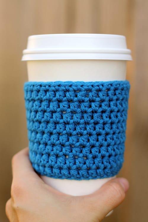 Coffee Sleeve - quick crochet projects