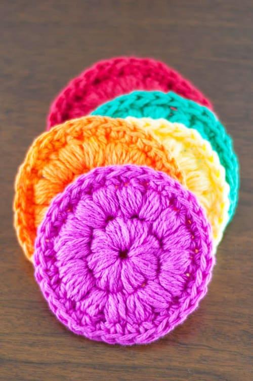 Cotton Face Scrubbies - quick crochet projects