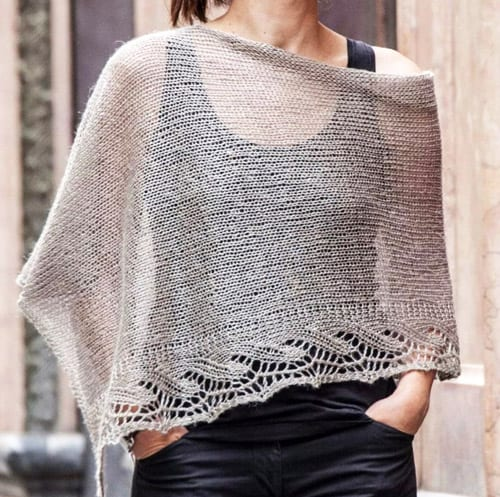 Emilia Shawl - lace knitting patterns