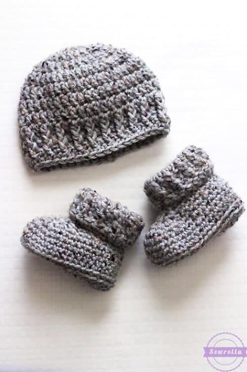 Parker Crochet Newborn Hat - quick crochet projects