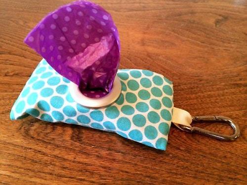 Poop Bag Dispenser - sew for your pets