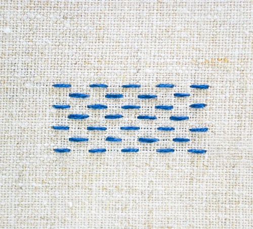Basic embroidery stitches perfect for your next project