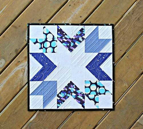 Starburst Constellation - mini quilt patterns