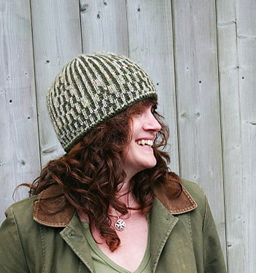 Weeping Willow Hat - double knitting projects