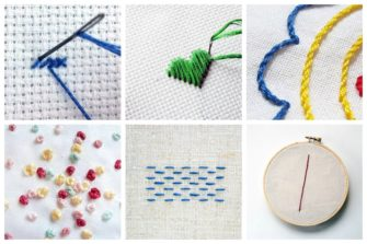 basic embroidery stitches