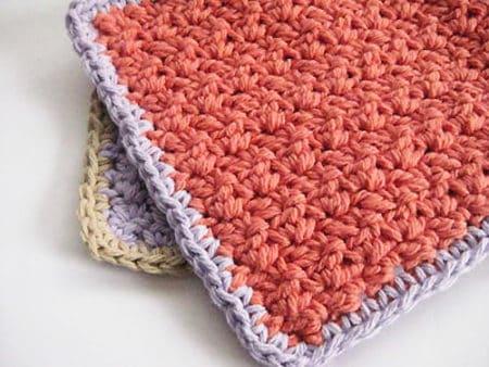 Easy Peasy - crochet washcloth