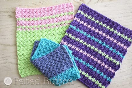 Mama's - crochet washcloth