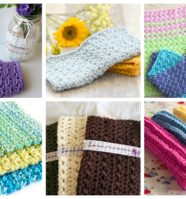 15 Quick and Easy Crochet Washcloth to Make This Weekend