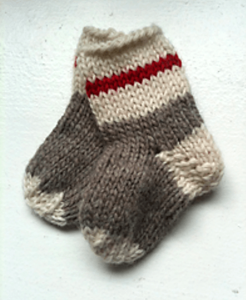 Knitting Slippers For Charity : Pattern ideas for knitting charity ideal me
