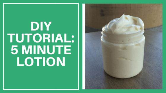 This Creamy Lotion Takes Under 5 Minutes To Make
