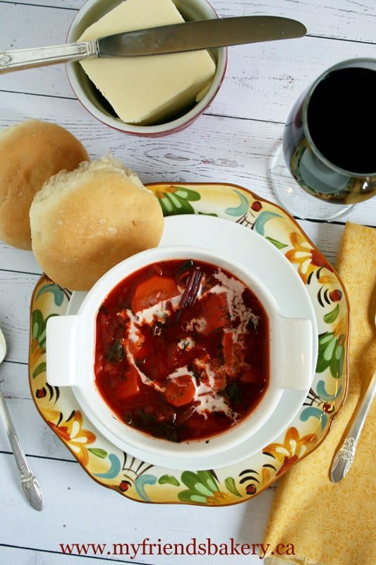 Borscht Soup - Canning homemade soups can help you save money, gain control over what's in your food, and save you time when you need a quick meal. Make your own canned soup with one of these delicious twelve recipes today.