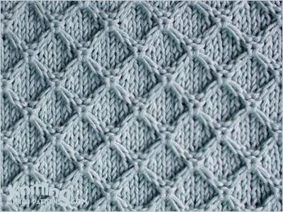 diamond-honeycomb-stitch