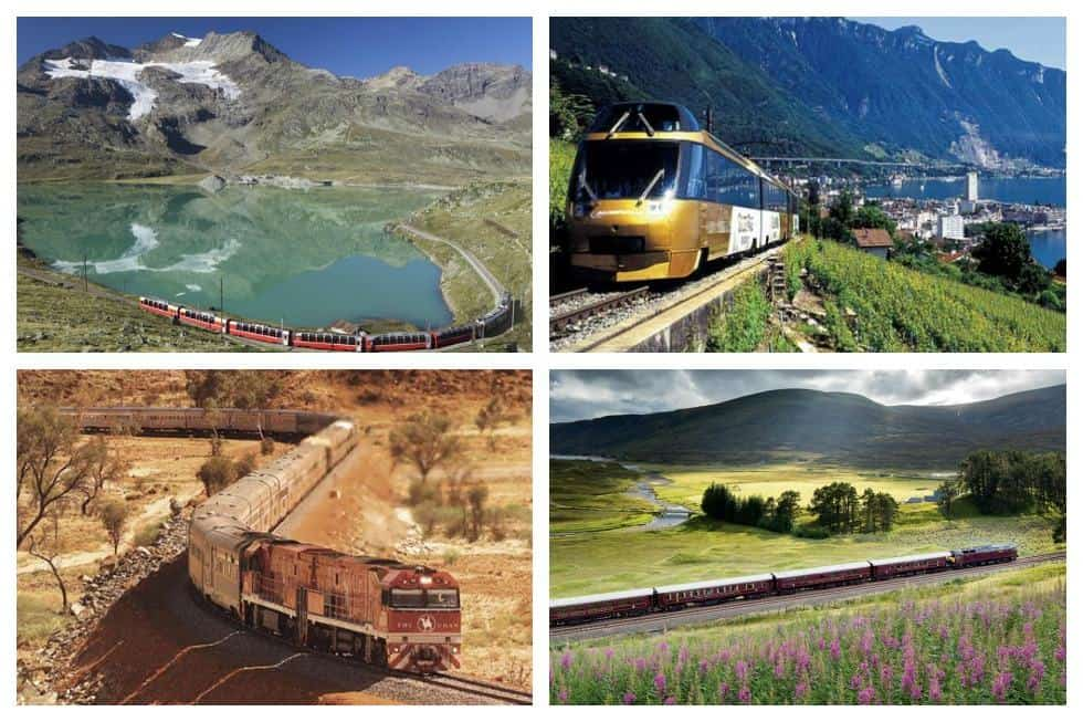 The world s top 15 train trips to put on your bucket list for Best train vacations in the world