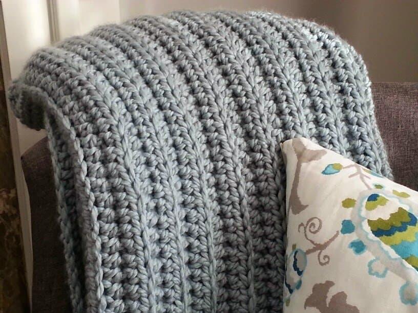 Crochet Afghan Patterns Solid Color