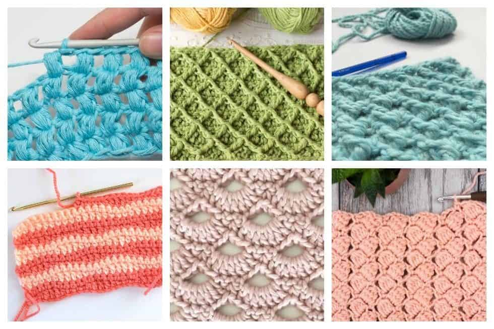 ... easy crochet stitches you can use for any project to get you started