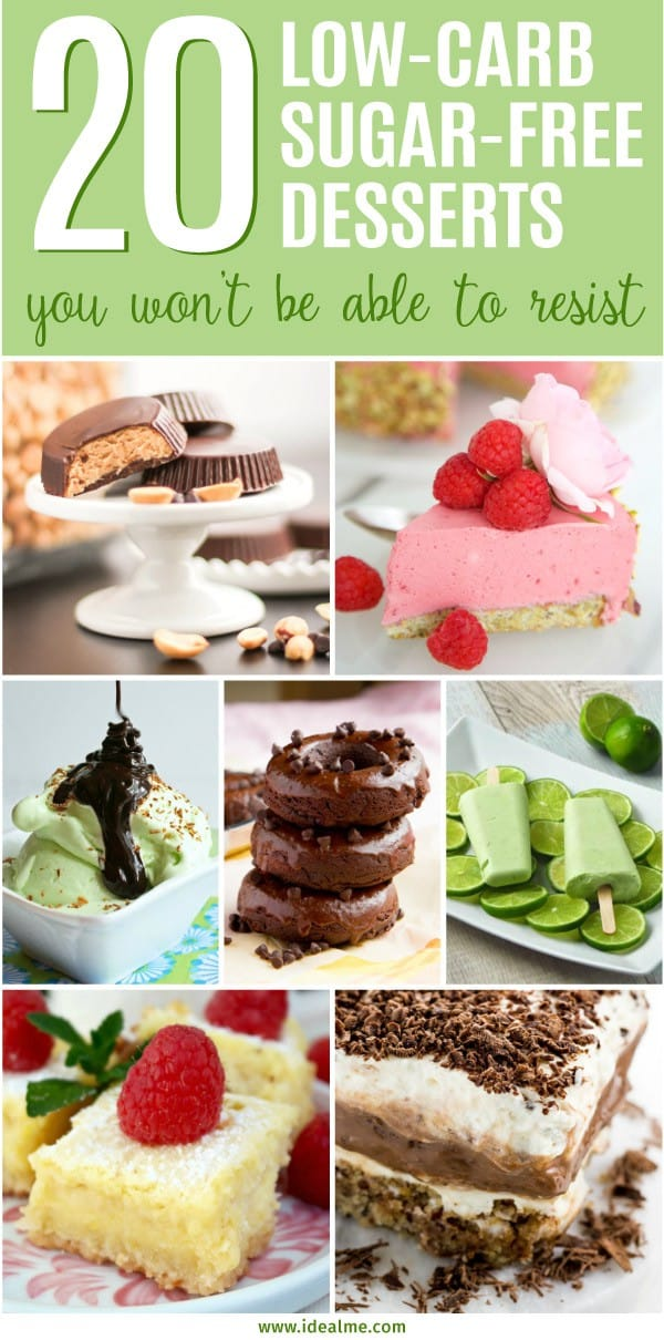 20 Best Low-Carb Sugar-Free Dessert Recipes - Ideal Me