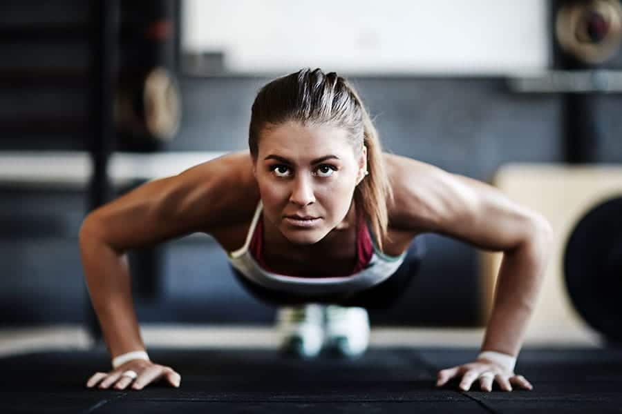 This high-intensity workout features a variety of exercises that are favorites among military trainees. Get ready to challenge yourself with an intense cardio workout. This one will leave you feeling like you just went through a battlefield.