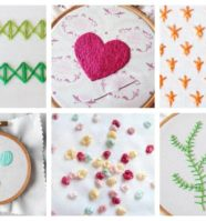 20 Easy Embroidery Stitches Every Embroiderer Should Master