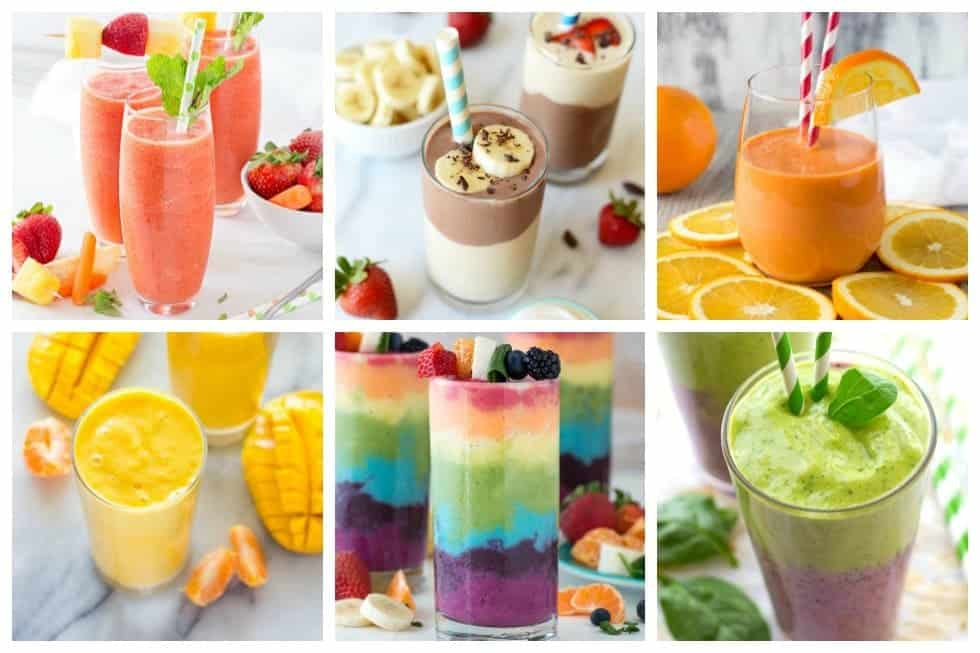 These smoothie recipes are delicious, healthy and the flavor combinations are endless. For an easy go-to breakfast, check out 21 of the best smoothie recipes to kick of your day now.