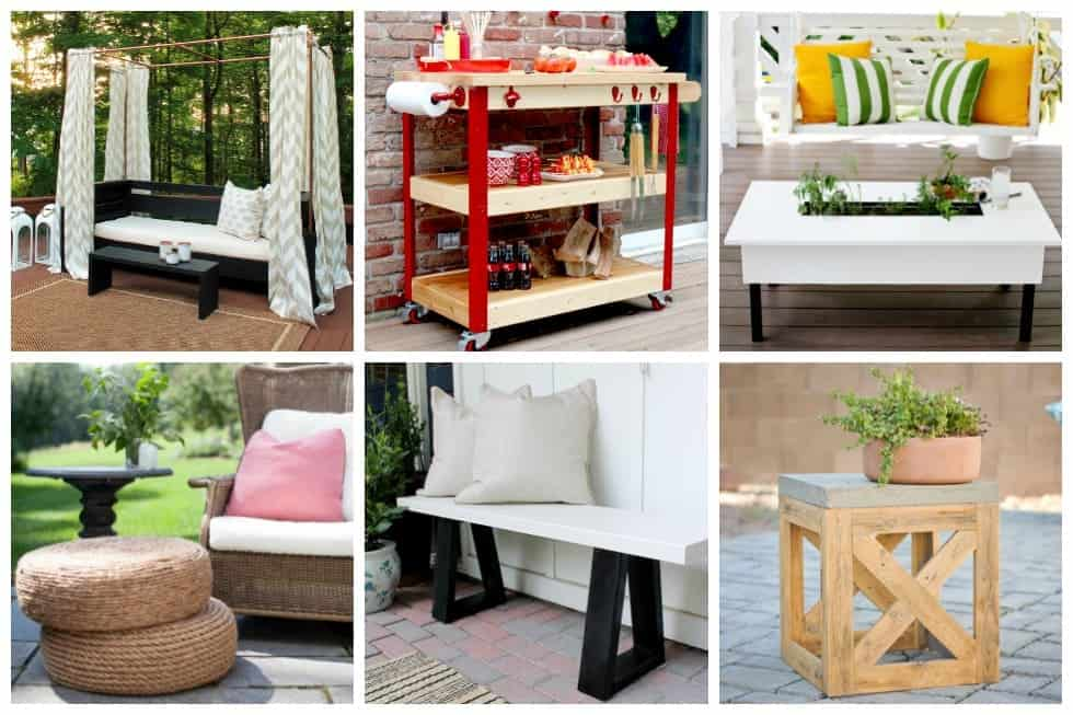 17 DIY Outdoor Furniture Ideas To Make Your Yard More