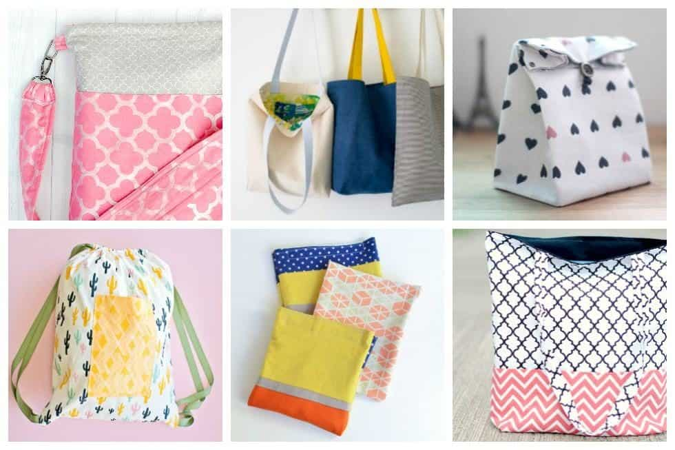 Check out our round-up of 15 easy to sew totes and bags - you're sure to find something to make for yourself or give to your friends and family.