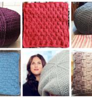 A 30 Day Crochet Challenge: Pillows & Poufs