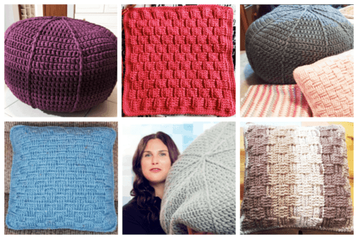 A 30 Day Crochet Challenge: Pillows & Poufs. With the 30 Day Crochet Challenge, you get an entire community of people and professional crochet instructors who help give you advice and encouragement.