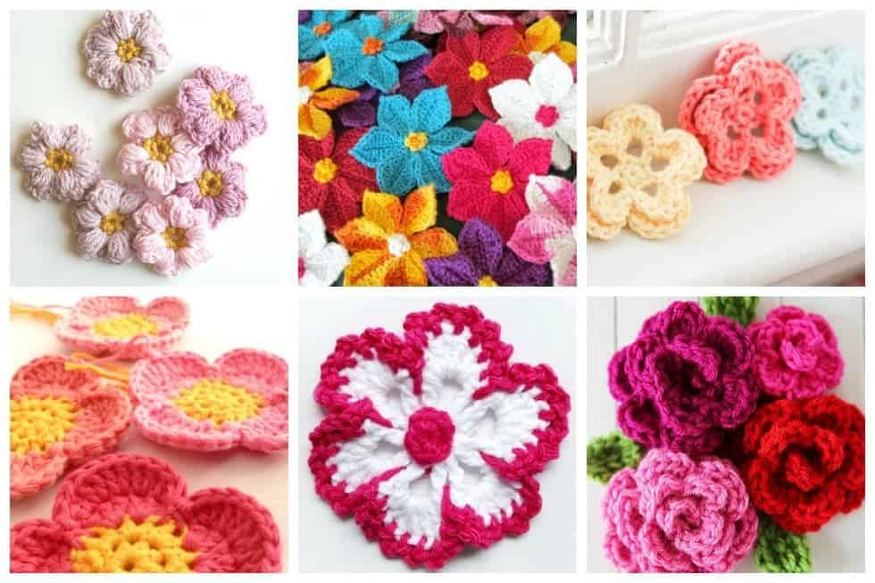 15 Easy Crochet Flowers Youll Want To Make For Your Next Project
