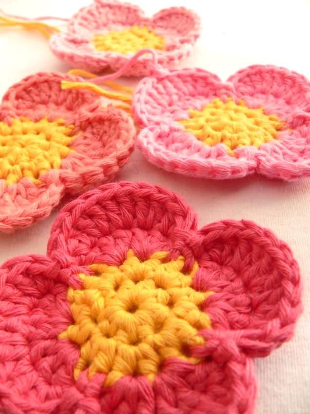 Simple Crochet Flower Pattern Ideal Me