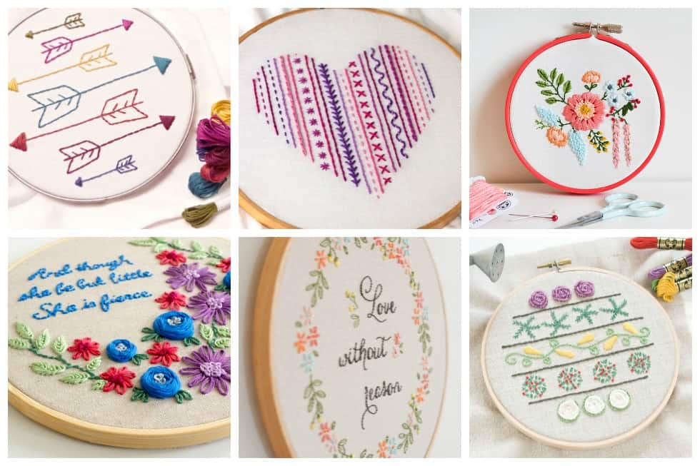graphic regarding Free Printable Embroidery Patterns by Hand identify 15 Straightforward Hand Embroidery Behavior Ideal for Reward Offering