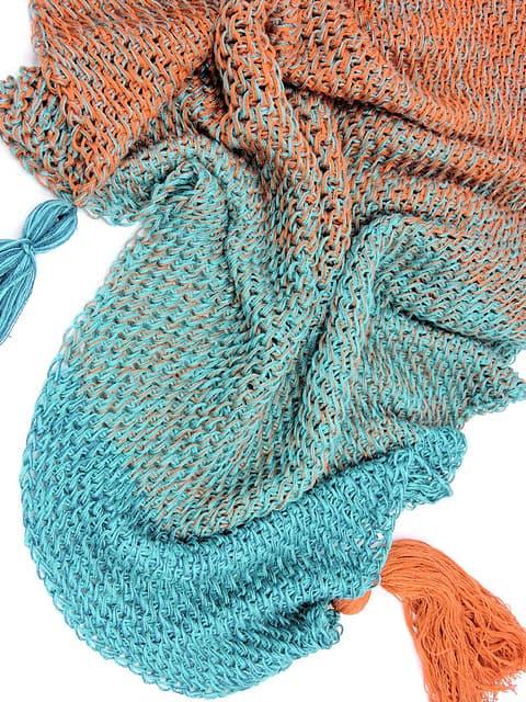 Mermaid Isle Scarf Tunisian Crochet Pattern Ideal Me