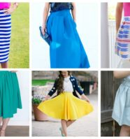 16 Easy Sew Skirt Patterns for Beginner Sewers