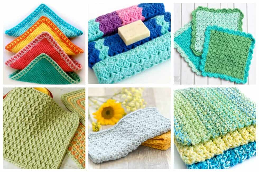 17 Free Crochet Dishcloth Patterns Thatll Make You Want To Wash The