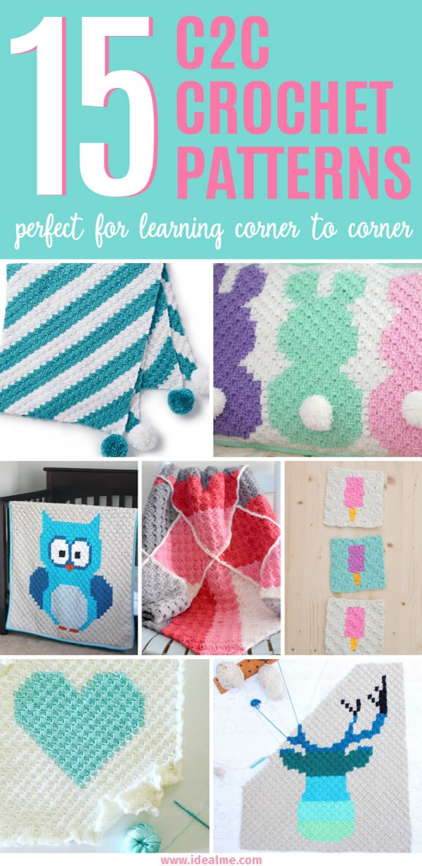 Easy Corner To Corner Crochet Patterns Ideal Me