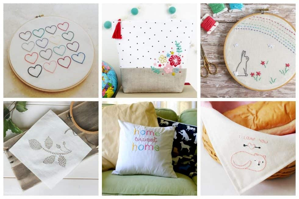 22 Simple Embroidery Designs Perfect For Beginners Ideal Me