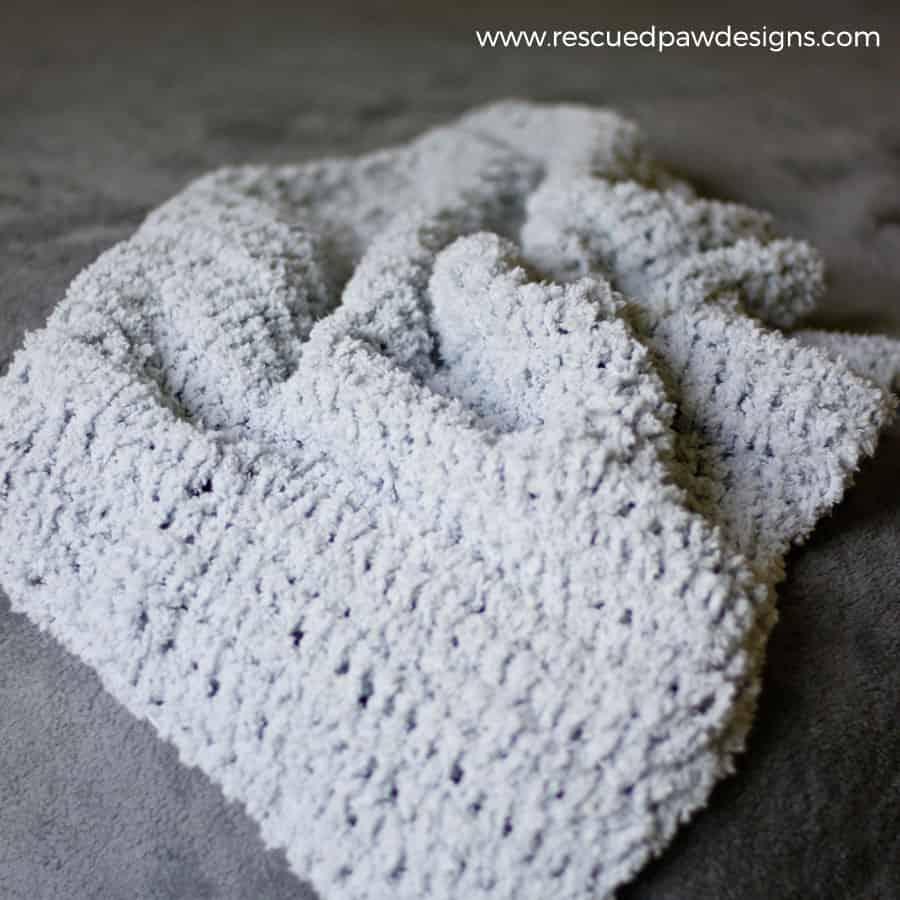 Simple Crochet Baby Blanket Pattern Ideal Me