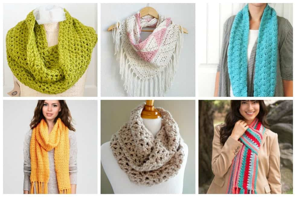 17 Cozy Scarf Crochet Patterns To Keep You Warm This Fall Ideal Me